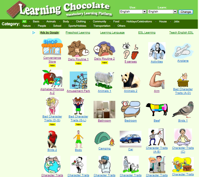 ICT in ELT Chris TJ: Learning Chocolate