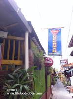 Superman Restaurant at Sosrowijayan Gang 1 Street Yogyakarta