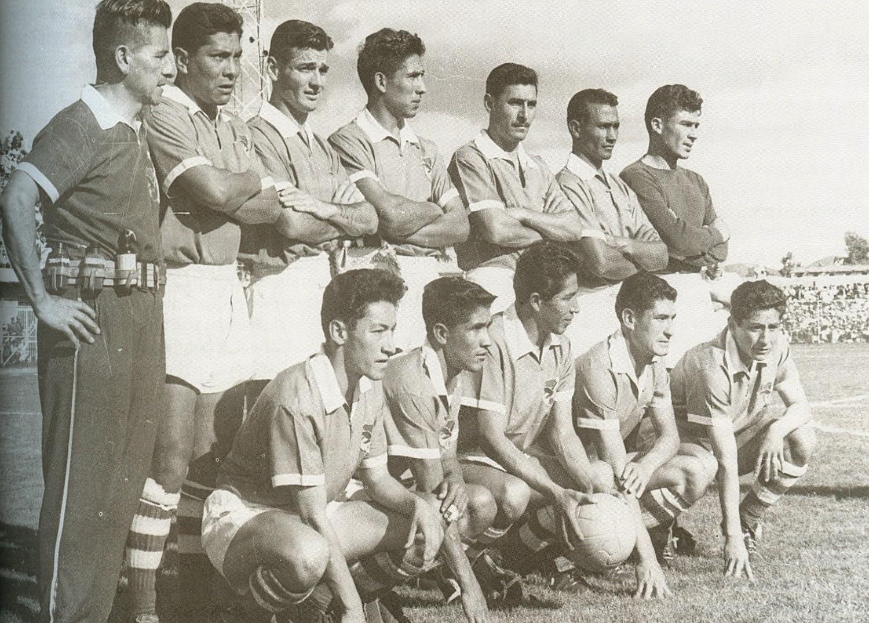 Resultado de imagem para seleçao da bolivia 1960