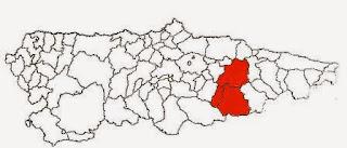 Queso Casín, zona de producción