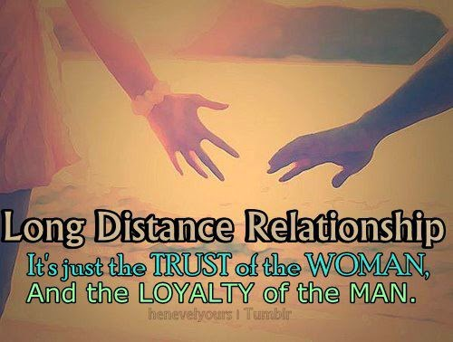 Long distance dating