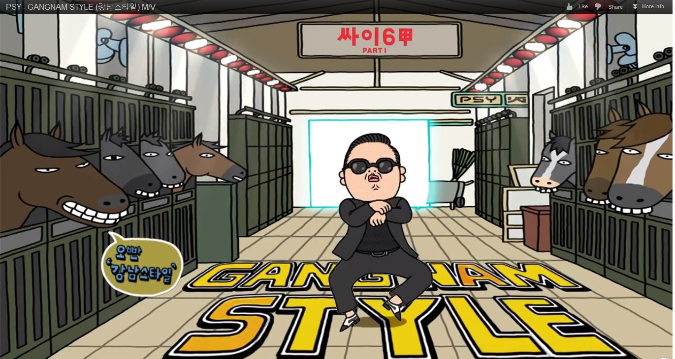 Gangnam Style English