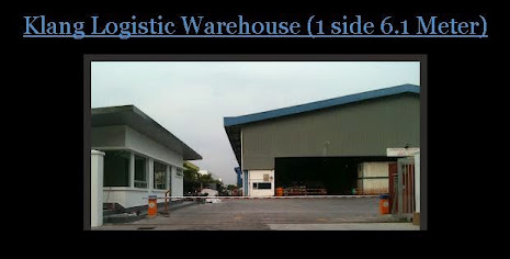 Boom gate at Klang warehouse