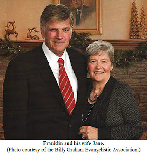 Franklin and his wife Jane