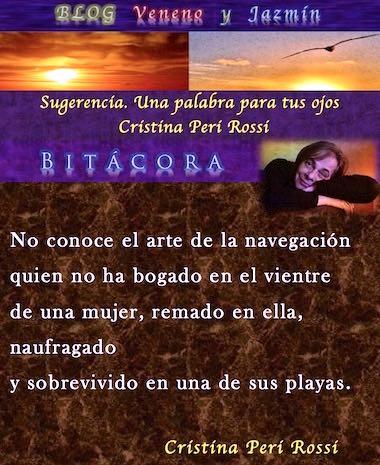 Cristina Peri Rossi: BITACORA