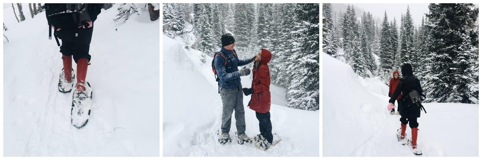 Bear Lake Trailhead Snowshoeing