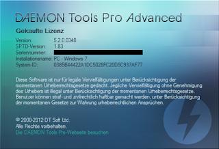 serial Daemon Tools Pro Advanced 5.2.0 Full