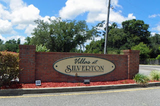 Entrance to Villas at Silverton off Olive Rd./ Stonebrook Dr