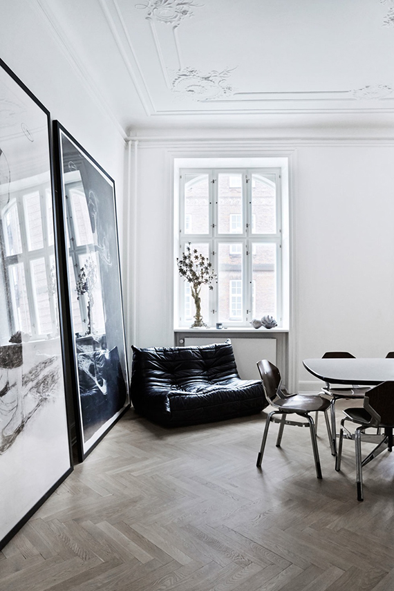 Eclectic contemporary apartment in Copenhagen | Birgitta Wolfgang / Sisters Agency via Bo Bedre