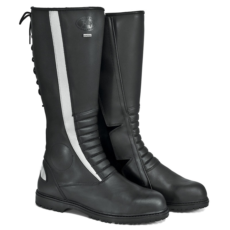 Tall motorcycle boots jolly scarpe 39 s patrol boots Police motor boots