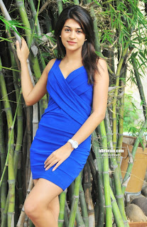 Shraddha Das beautiful early days Pics in Small Blue Skirt Lvoely Beauty