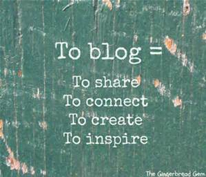 WHAT DOES IT MEAN TO BLOG?