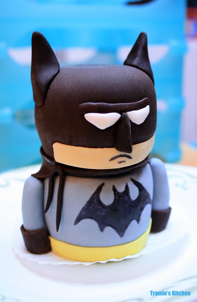 Birthday Cake Batman Lego Birthday Theme