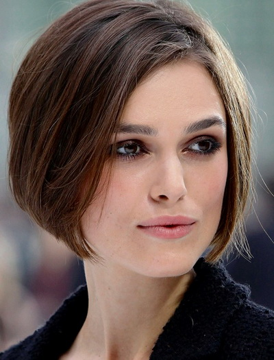 причёски круглое лицо фото