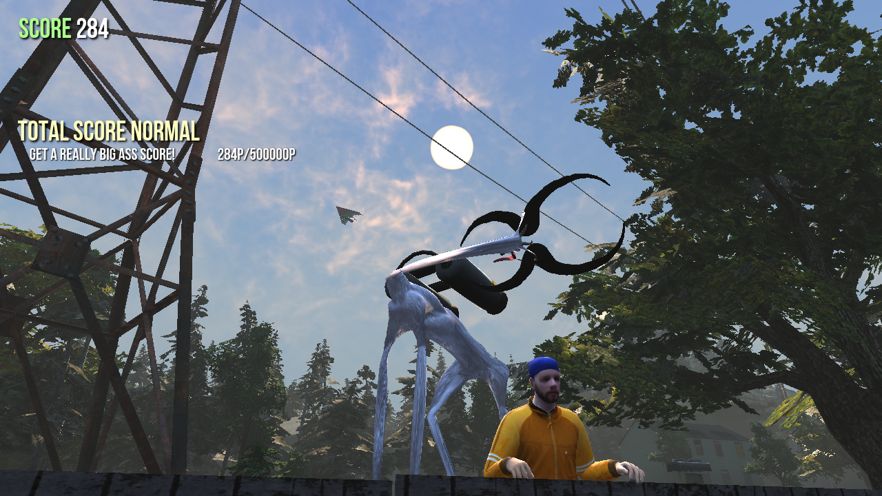 goat simulator screenshot scary stretch