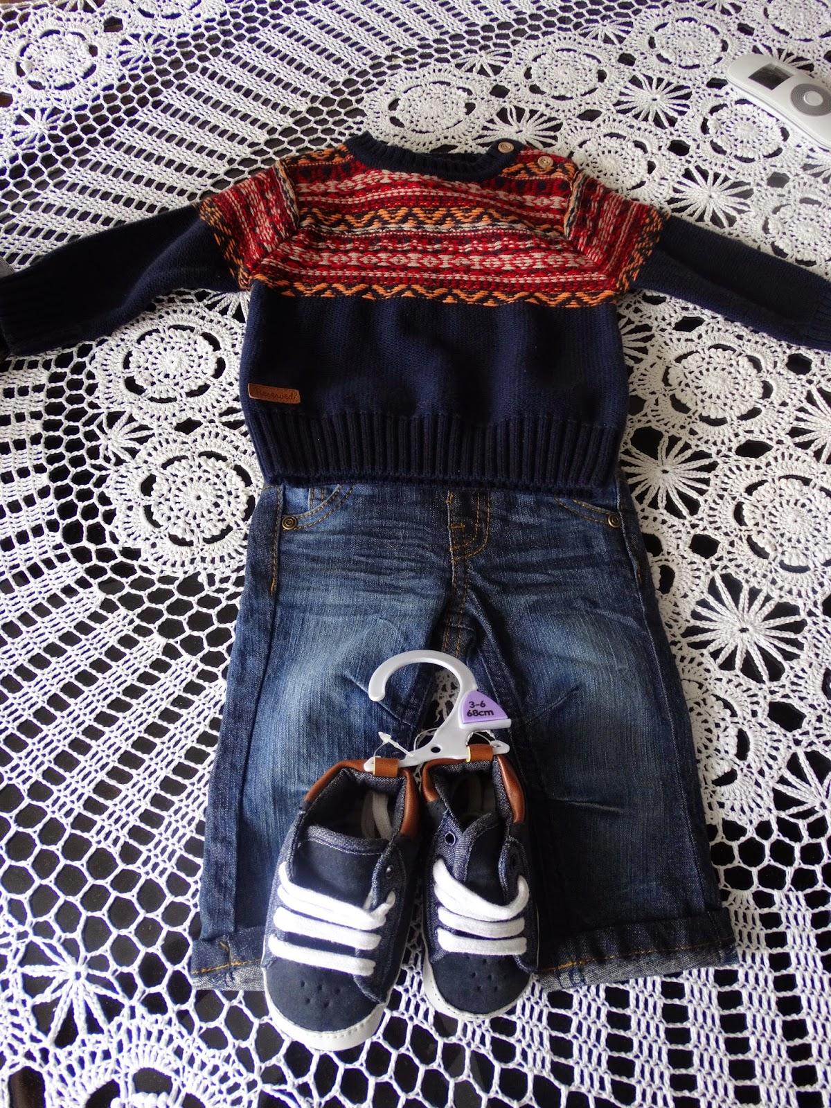 modny niemowlak