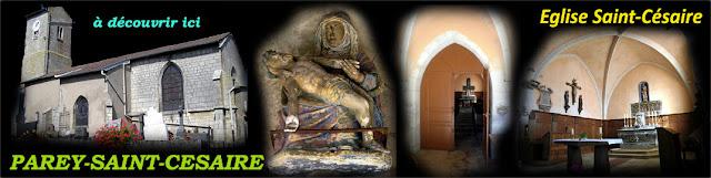 PAREY-SAINT-CESAIRE (54) - Eglise Saint-Césaire