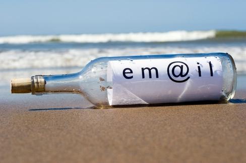 Бутылка с emal
