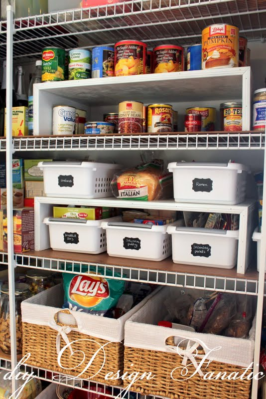 Diy Design Fanatic Keep Your Pantry Organized