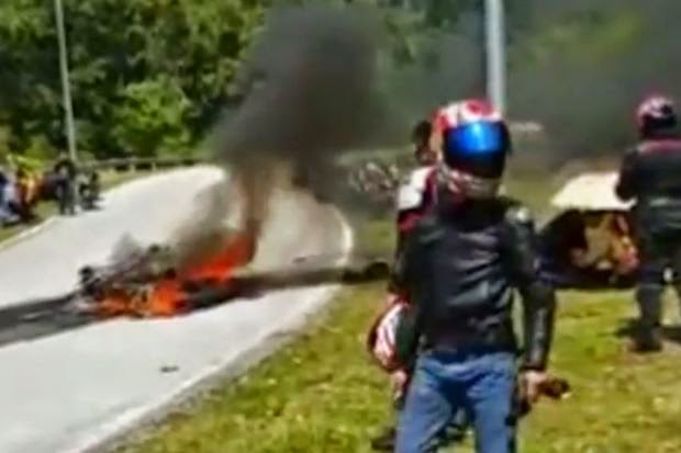 Lagi Penunggang Motosikal Maut di Bentong , info, terkini, berita, kemalangan jalan raya, kemalangan motor berkuasa tinggi,