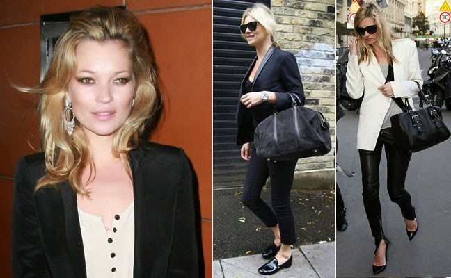 Kate Moss, una de las it girls que marcan tendencia