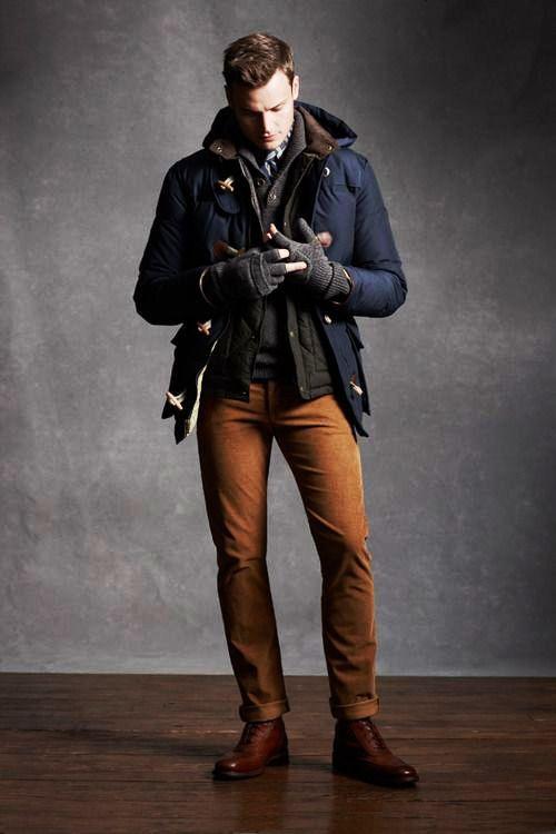 Brown Pant Blue Jacket Combination For Men Men 39 S