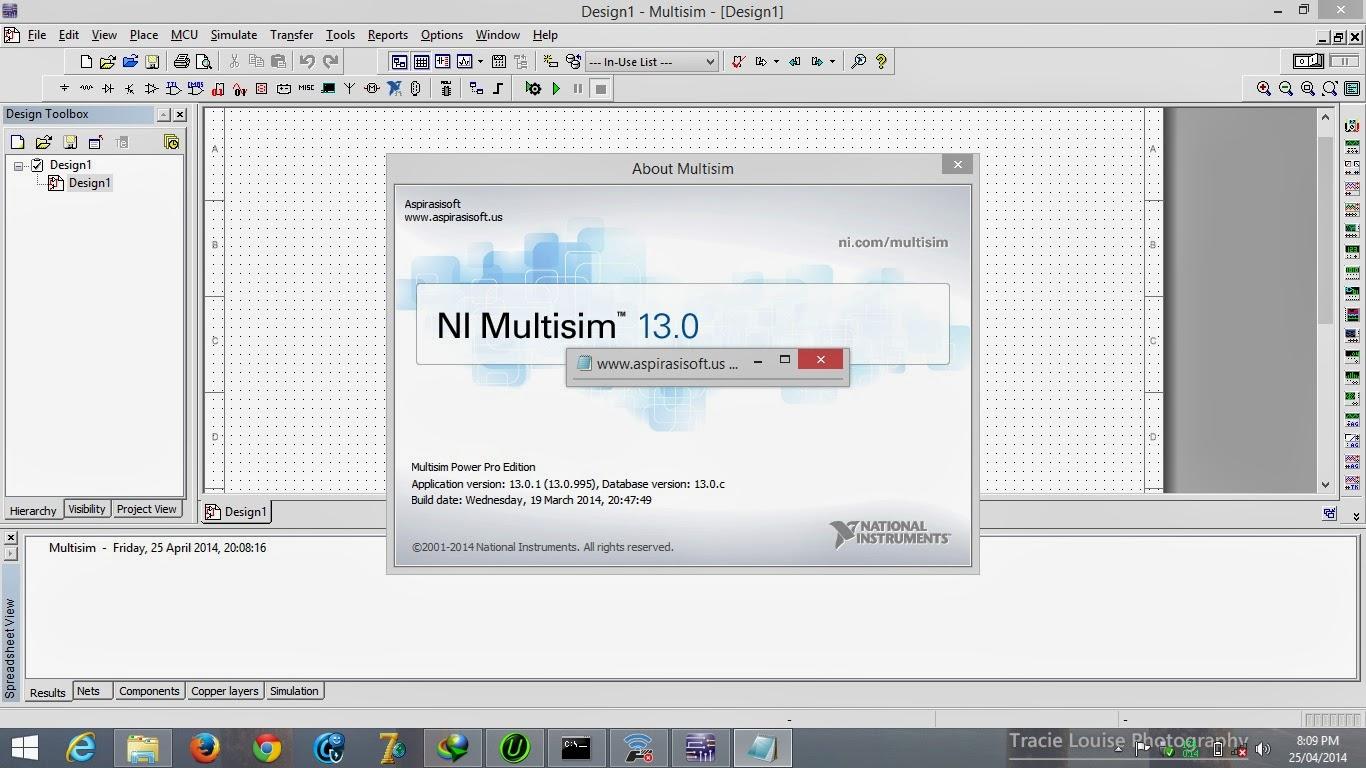 NI Multisim 13.0 Power Pro Edtion Full License Activator - Uppit