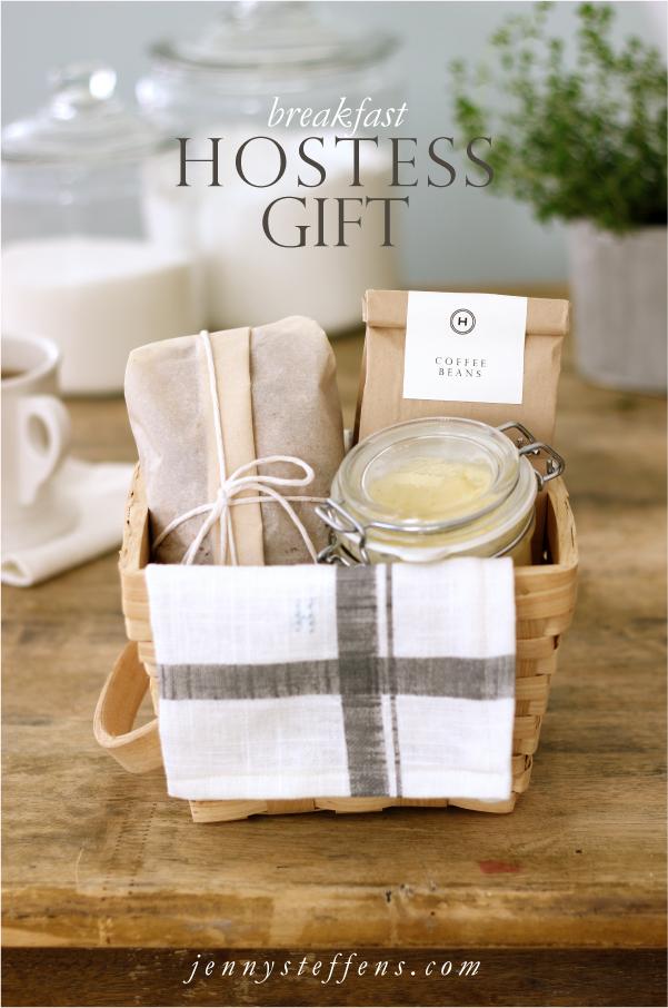 Jenny Steffens Hobick Breakfast Hostess Gift