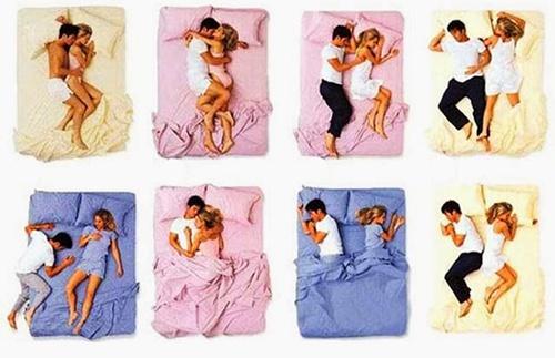 Posição em que casal dorme pode dizer muito sobre a relação! Confira...