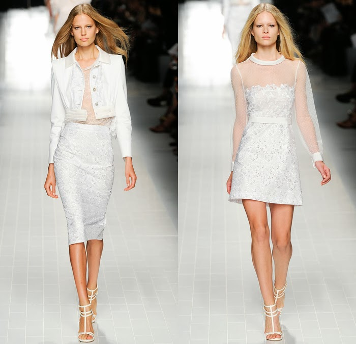 Blumarine spring summer 2014 collection, runway