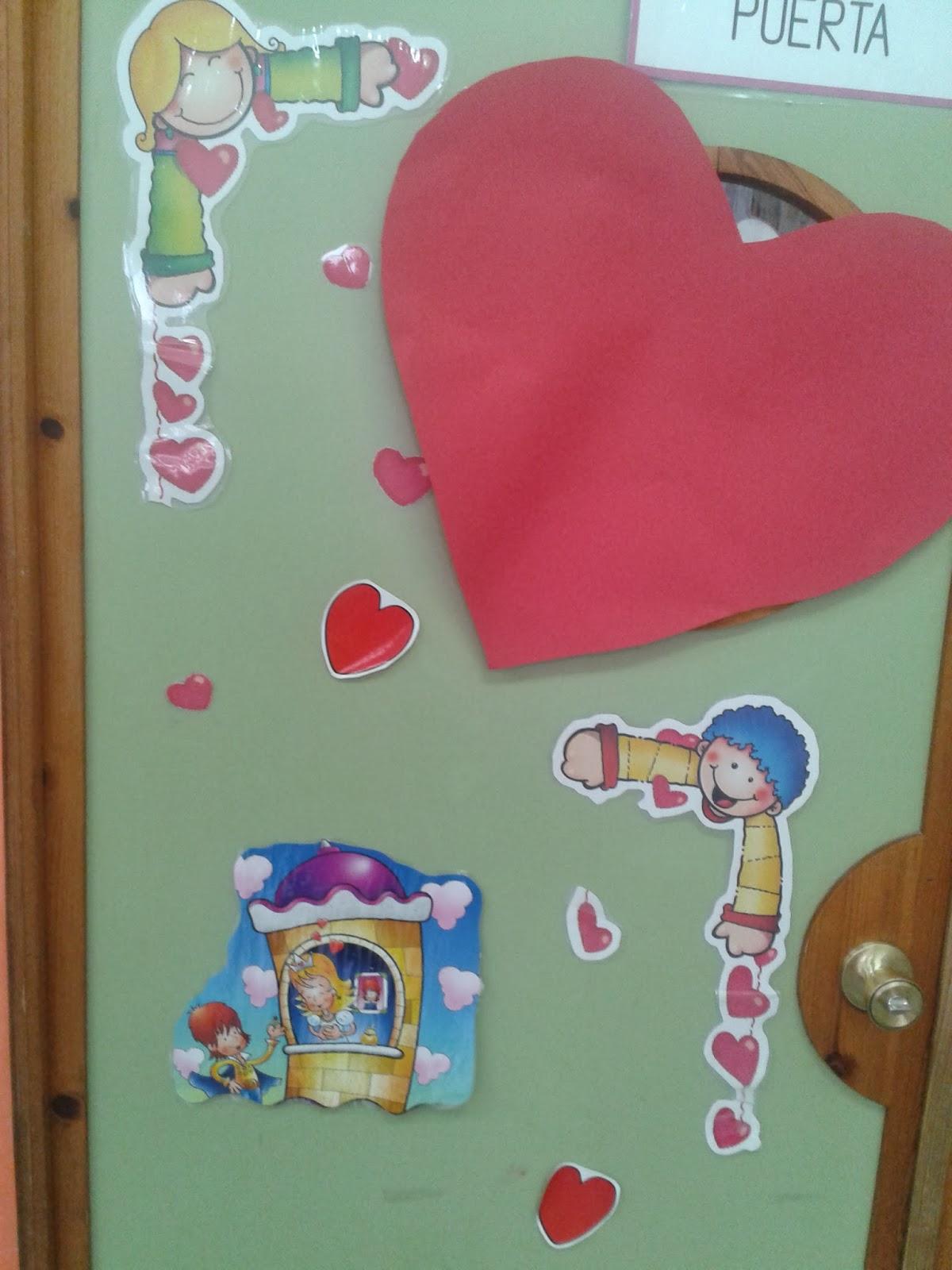 Mi blog de infantil 3 4 5 puertas decoradas for Puertas decoradas del 14 de febrero