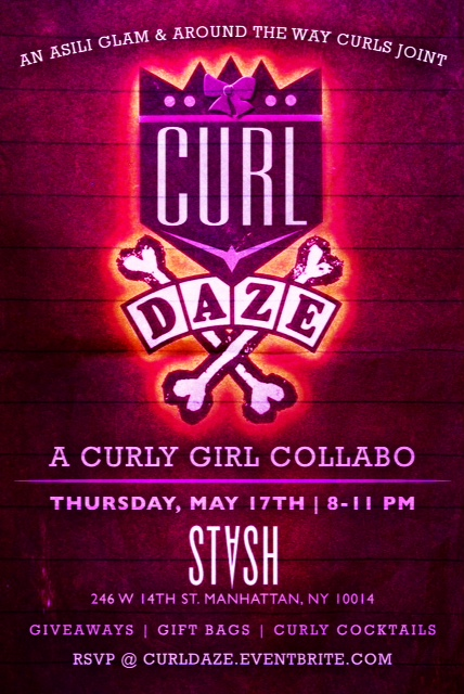 Curl Daze Time Extended! 8:00pm -1:00 am