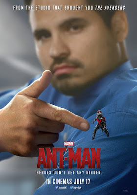 Ant-Man Character Movie Poster Set - Michael Peña as Luis