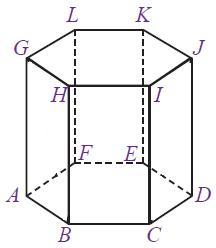 prisma tegak segi enam beraturan