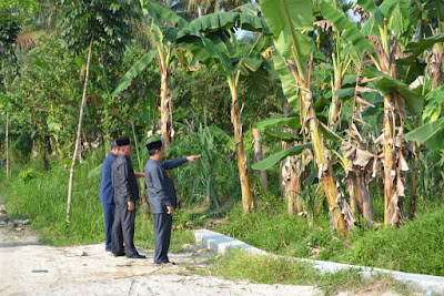 Kakankemenag Tanjungbalai Tinjau Lokasi Rencana Pembangunan KUA Kecamatan Sei Tualang Raso