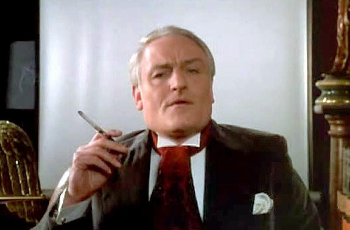 "Mycroft ""No Neck"" Holmes"