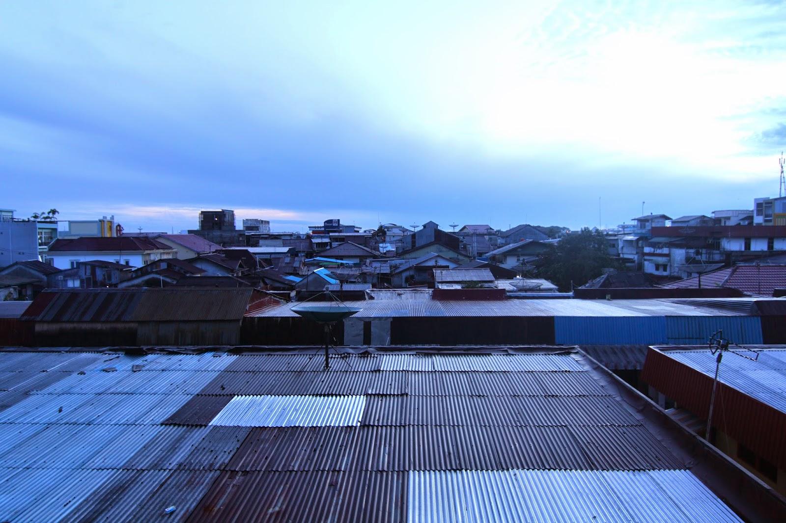 Suasana selepas subuh di Kota Pontianak