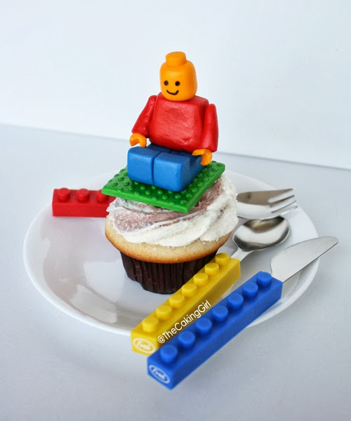 how to make a lego cupcake
