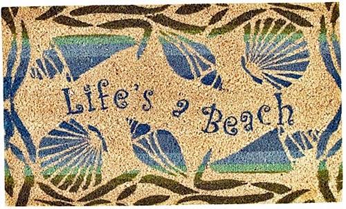 Life's a Beach Rug Mat