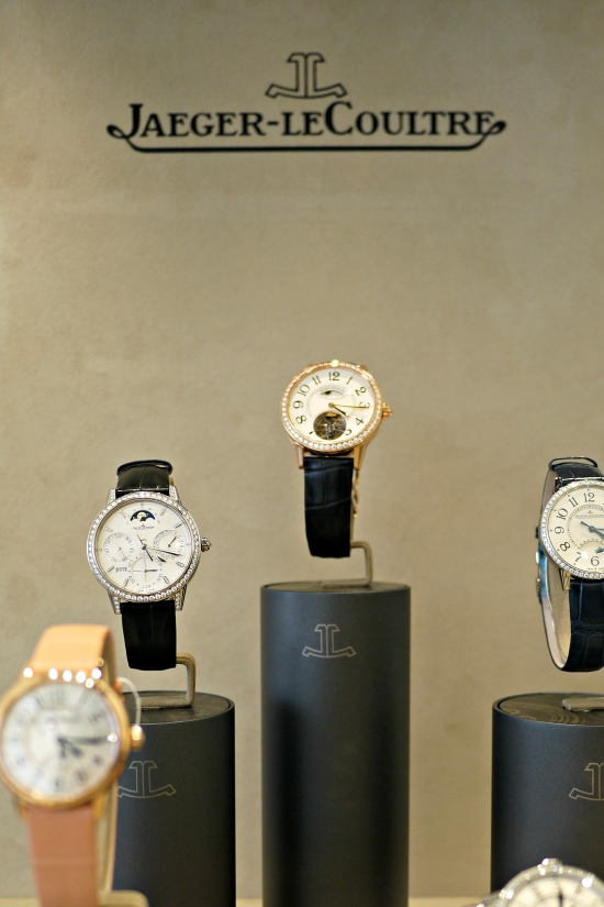 Jaeger-LeCoultre Watches in the VIP Enclosure at Cowdray