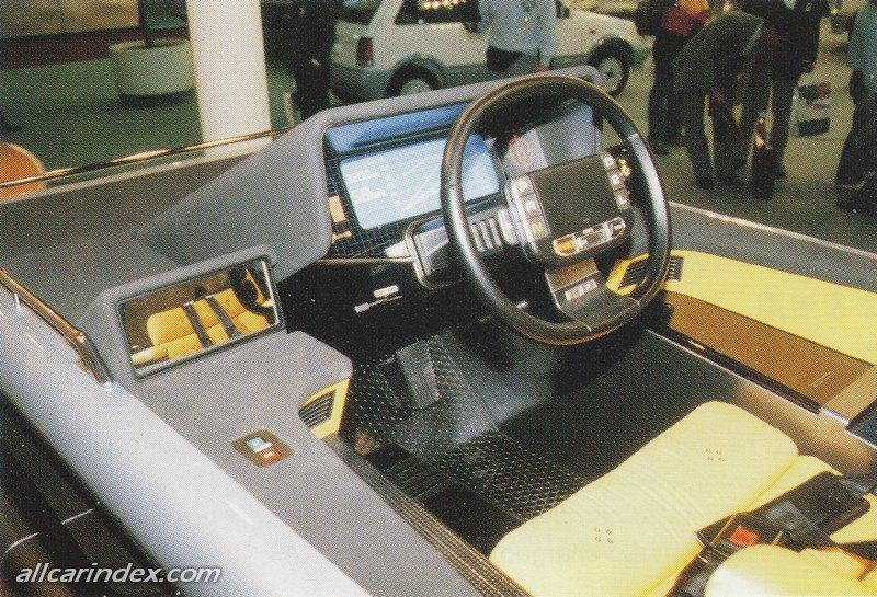 Daihatsu Trek, off road, koncept, prototyp, Tokyo Motor Show 1985, jeżdżace łóżko, namiot, jednoosobowy, ciekawostka, japonia, JDM, wnętrze, w środku, interior, inside