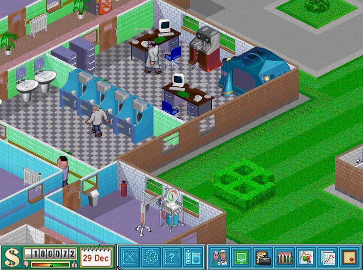 how to play theme hospital on windows 7 64 bit