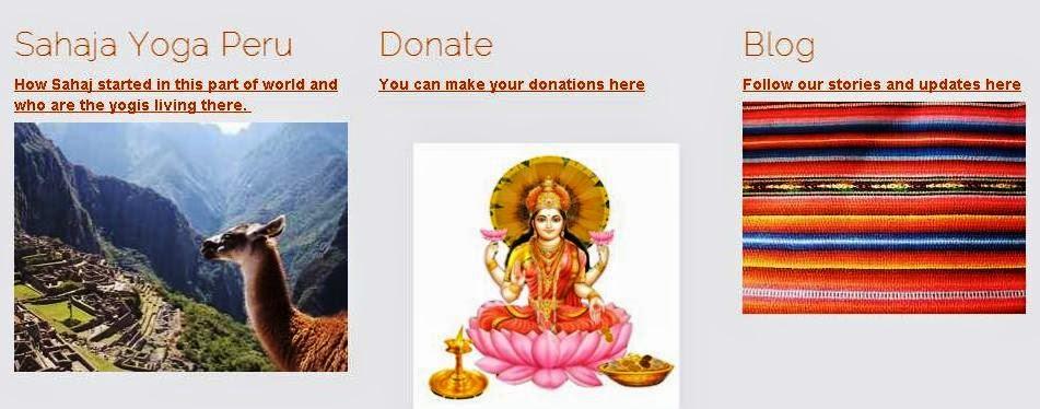 click to get to the Sahaja Yoga Peru website