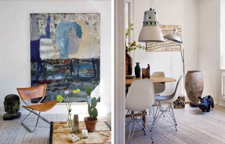 design attractor: Home of Danish Designer Birgitte Rabens