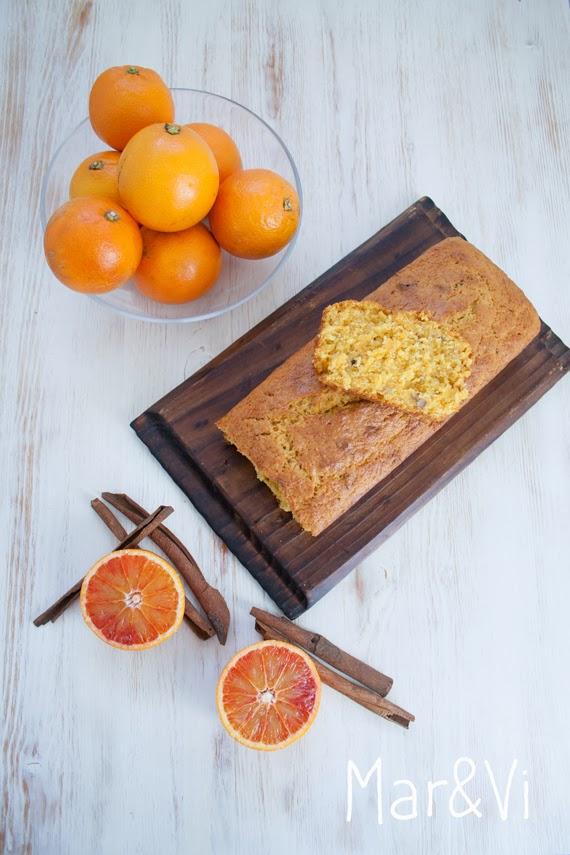 Receta de bizcocho rústico de zanahoria y naranja