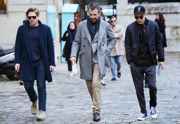 The Best Street Style Of Men 39 S Fashion Week Fall 2014
