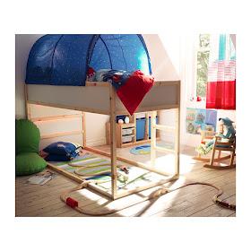 Mama S Felt Cafe Pirate Fort Ikea Kura Bed