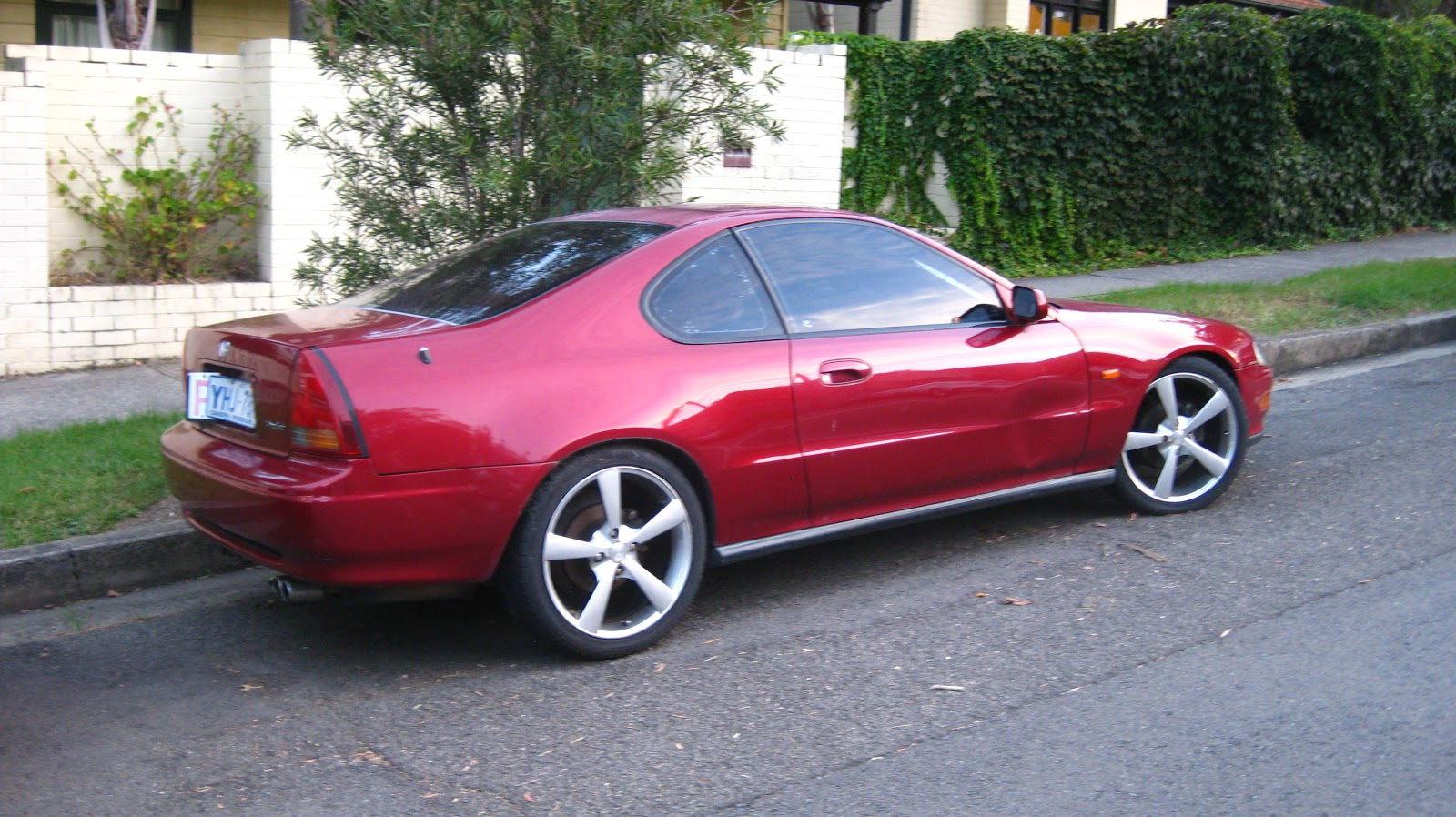 Aussie Old Parked Cars 1992 Honda Prelude Si