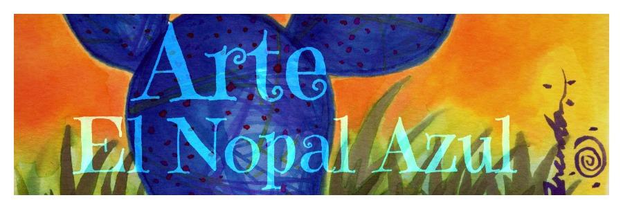 Arte El Nopal Azul