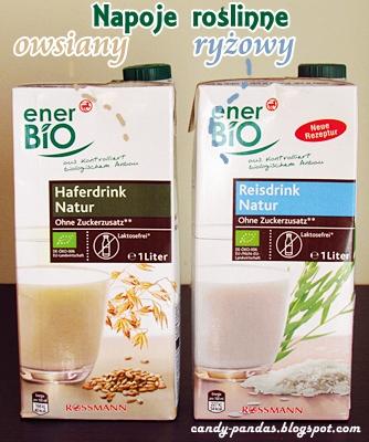 Napój owsiany i ryżowy - Ener Bio (Rossman)